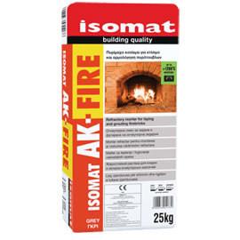 Mortar Refractar Isomat AK Fire 25 kg