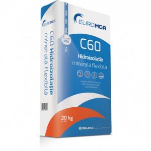 C60 Hidroizolaţie Minerală Flexibilă - 20 kg