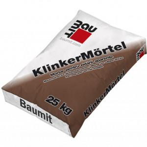 Baumit Klinker - Mortar Zidarie Gata Preparat pentru Caramida Aparenta 25 kg