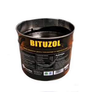 Bituzol - Mastic Bituminos (Smoala) pentru Hidroizolatii cu Aplicare la Cald