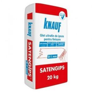 Knauf Satengips 20 kg - Glet Ultrafin de Ipsos pentru Finisare