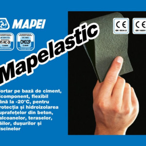 Mapelastic - Hidroizolatie Flexibila si Protectie Anticorozivă Structuri din Beton