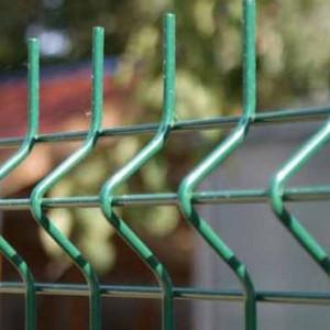 Panou Gard Bordurat 4 mm Vopsit Verde