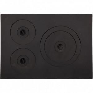 Plita Fonta 532 x 378 mm cu 3 ochiuri