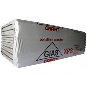 Polistiren extrudat GIAS GRAFIT XPS 6 cm - 5,07 mp/bax
