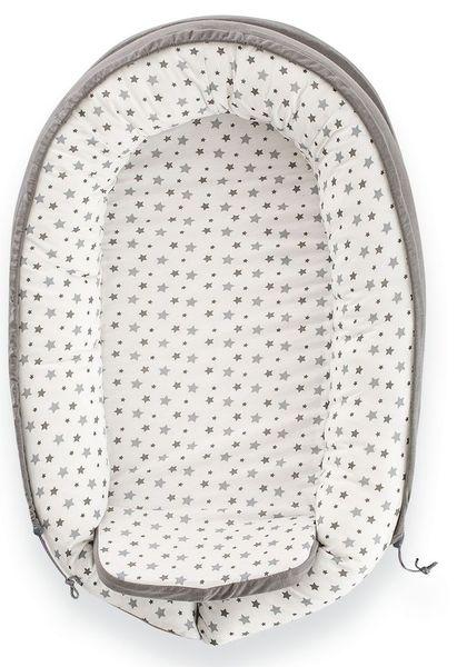 Cuib pentru bebelusi Gray Stars