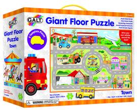 Giant Floor Puzzle: Orasul (30 piese)