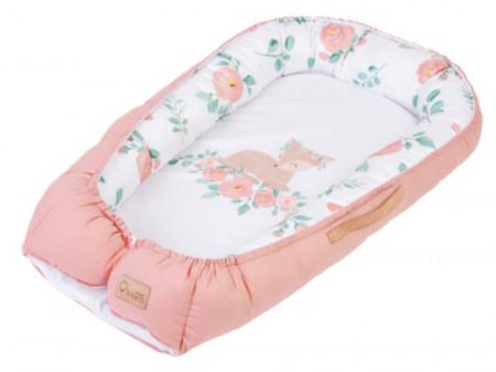 Baby Nest Klups Nature & Love Rose N001