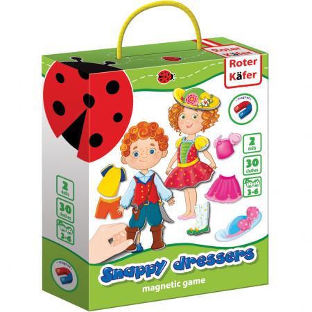 Joc educativ magnetic Snappy dressers Roter Kafer RK3204-04