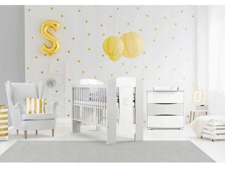 Mobilier Camera copii Si Bebelusi KLUPS NATI Alb Gri