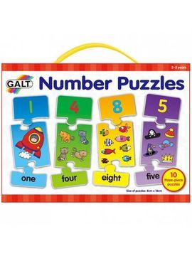 Puzzle cu numere (3 piese)