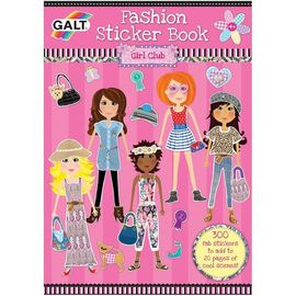 Girl club - Carte abtibilduri Fashion