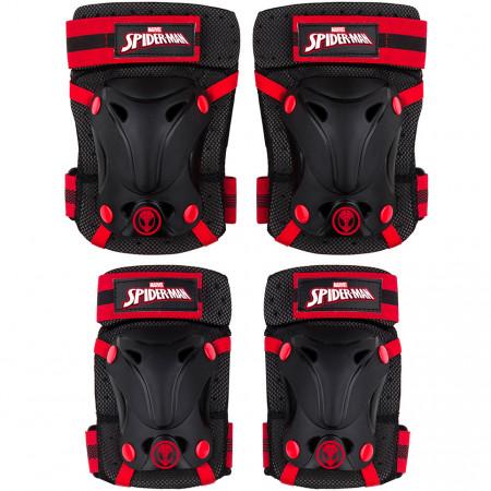 Set protectie Skate Cotiere Genunchiere si Incheieturi Spiderman Seven SV9067