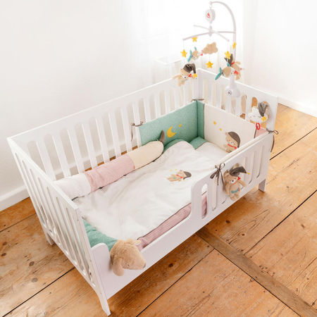 Lenjerie de pat copii - Bruno (80 x 80)