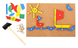 Set de creatie - Forme din lemn
