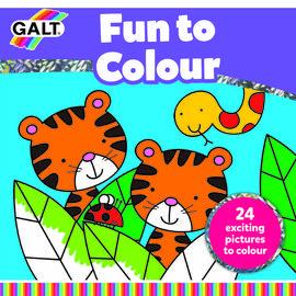 Carte de colorat Fun to Colour