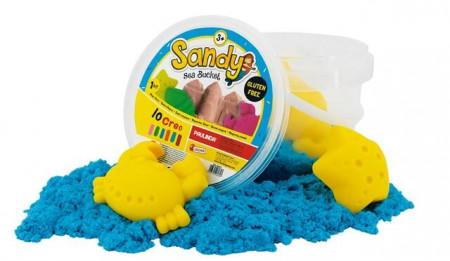 Galetusa cu nisip de mare colorat