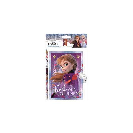 Jurnal Disney Frozen cu lacatel si creion SunCity ARJ003869
