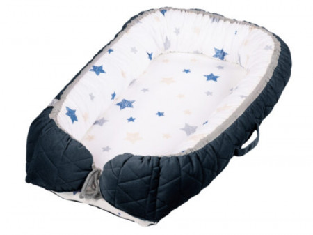 Baby Nest Klups Albastru Marin V105