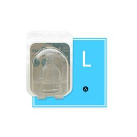 Set tetine din silicon - marimea L