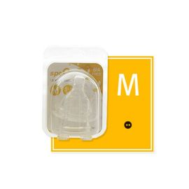 Set tetine din silicon-marimea M