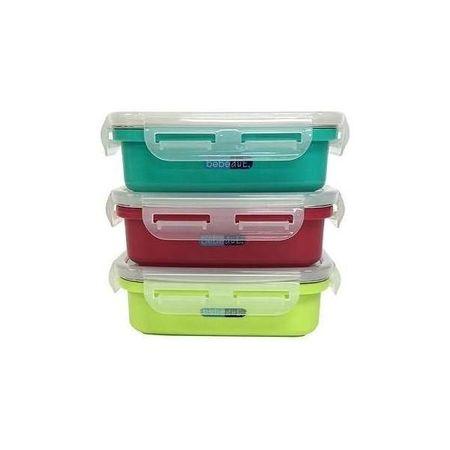 Recipient hrana copii inox Colours and Flavours 300ml BebeduE BD80220
