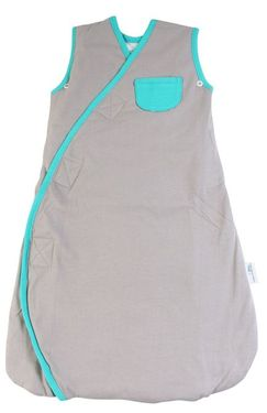 Sac de dormit multifunctional Grey Turquoise Elephant Travel 18-36 luni 2.5 Tog