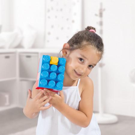 Cuburi de construit in gentuta - 70 piese