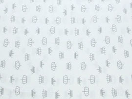 Lenjerie MyKids Coronite Alb 4+1 Piese 120x60