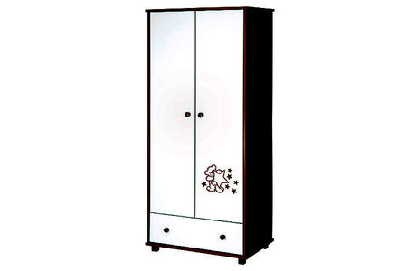 Mobilier Klups Teddy with stars wenge 3