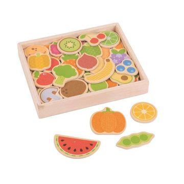 Set magnetic - Fructe si Legume