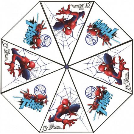Umbrela transparenta Spiderman, diametru 76 cm SunCity CTL08836