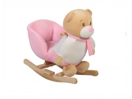Balansoar plus pentru copii MONI Bear Roz WJ-635