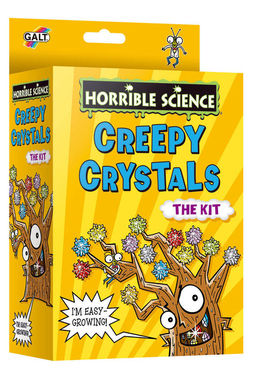 Poze Horrible Science : Cristale ciudate