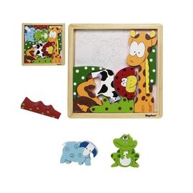 Joc puzzle din lemn Animale