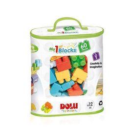 Primele cuburi de construit - 60 piese