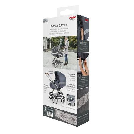 Protectie de ploaie universala cu fermoar pentru carucioare RainSafe Classic+ REER 84031