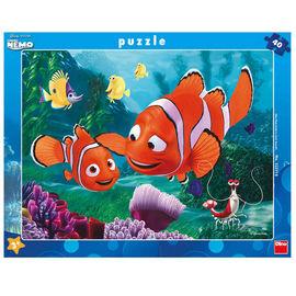 Puzzle - Aventurile lui Nemo (40 piese)