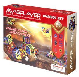 Set de constructie magnetic - 66 piese