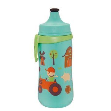 Cana Kids Cup Boy PP 330 ml, antipicurare, cu clip de prindere ,18+ luni, nip 35051