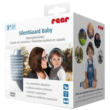Casti antifonice pentru bebelusi REER SilentGuard Baby Boy 53063