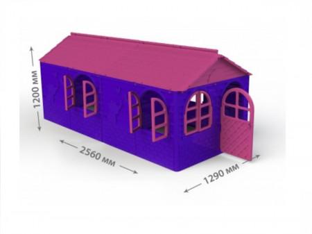 Casuta de joaca MyKids 02550/20 Pink/Violet - Big