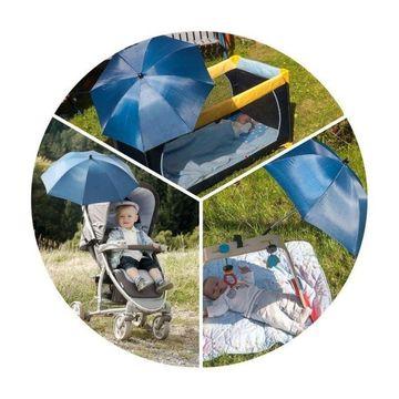 Reer ShineSafe - Umbreluta solara cu protectie impotriva radiatiilor UV 50+, bej
