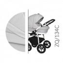 Carucior 3 in 1 Baby Merc Zippy Q - ZQ134C - Cadru Alb