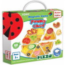 Joc educativ magnetic Pizza Roter Kafer RK2030-01