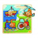 Primul meu puzzle - 4 mijloace de transport