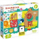 Puzzle Suuper mare Potriveste Animalele, 34 piese, 96x64cm Banana Panda BP49025