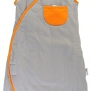 Sac de dormit multifunctional Grey Orange Zoo Animal Travel 0-3 luni 2.5 Tog
