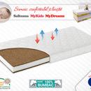 Saltea Fibra Cocos MyKids MyDreams II 160x70x15 (cm)