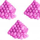 Set 300 bile colorate Soft Pink